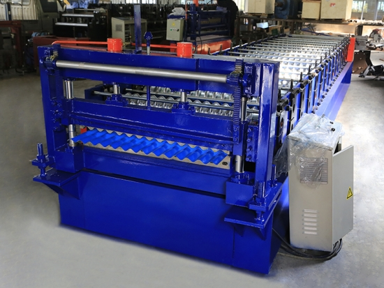 Glazed Tile Roll Forming Machine for YX18-76-838