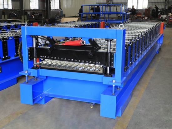 Corrugated Roof Sheet Machine for YX17.5-75-825 profile
