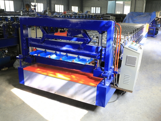 Wall Panel Roll Forming Machine For YX32-200-1000