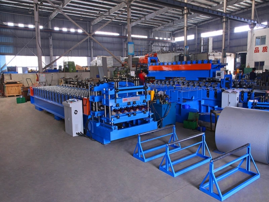 European Type Glazed Tile Roof Roll Forming Machine